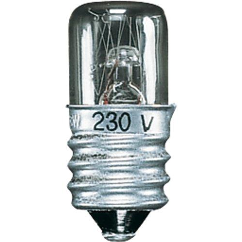 Jung E 14-3 W E14-3W Gluehlampe für Lichtsignal, 3 W, 220 V -