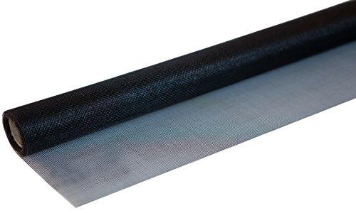 Windhager 03438 Insektenschutz Fliegengitter Insektenschutzgewebe aus hochwertigem Fiberglas, Maschenfest verschweißt, UV-beständig, anthrazit, 100 x 250 cm
