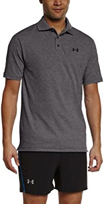 Under Armour UA PERFORMANCE POLO - Polo de manga corta de  para Hombre, color Gris (Carbon Heather), talla XXL