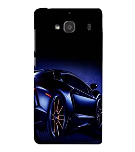 printtech Superfast car Back Case Cover for Xiaomi Redmi 2S::Xiaomi Redmi 2::Xiaomi Redmi 2 Prime