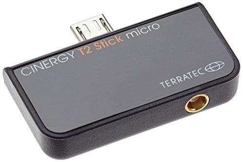 TerraTec 195447 Micro USB DVB-T2 schwarz