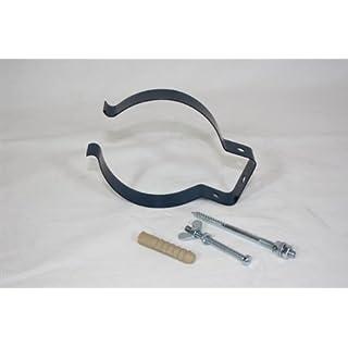 Ofenrohrhalter, gebläut 100–130 support de tuyau ø 0,6 mm d'épaisseur