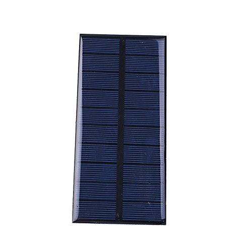 Cewaal DC5V 1.5W 300mA Epoxy Sonnenkraft Polykristallines Silizium Solarmodul DIY Modul für Zelle Ladegerät Spielzeug