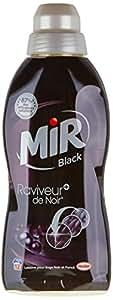 Mir Black Lessive Liquide Concentrée 12 Lavages Flacon de 750 ml - Lot de 4 (aléatoire)