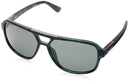 Fastrack UV Protected Square Men's Sunglasses - (C083GR4|61|Green Color) image