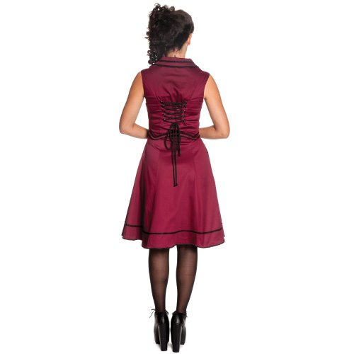 Spin Doctor Kleid NASTASYA DRESS burgundy Burgundy