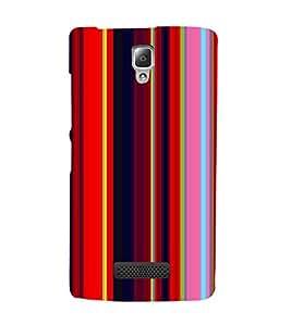 EPICCASE Colorful line pattern Mobile Back Case Cover For Lenovo A2010 (Designer Case)