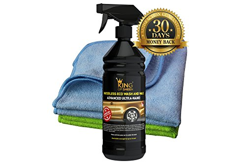 king-of-sheen-waterless-car-wash-and-wax-car-cleaning-kit-with-added-carnauba-wax-1litre-2-professio