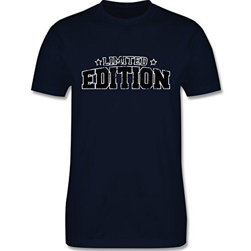 Statement Shirts - Limited Edition Vintage - Herren Premium T-Shirt Navy Blau