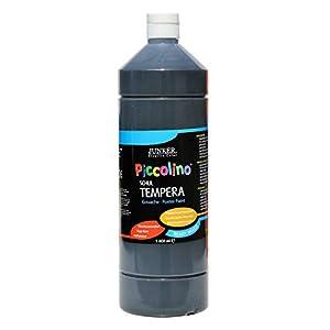 Piccolino Ready Mix Schultempera Color Negro 1000 ml