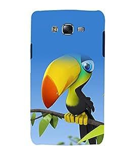 printtech Nature Bird Cartoon Back Case Cover for Samsung Galaxy Grand Prime G530h