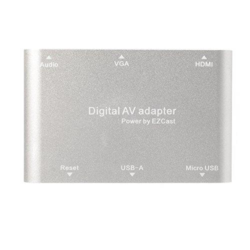 XCSOURCE EZCast AV Adaptateur Convertisseur Numérique pour iOS Android Window MacBook USB...