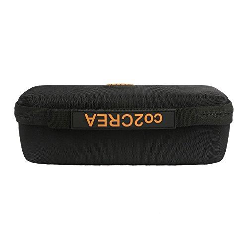 co2CREA EVA stoßfest Reise Lagerung Tasche Taschen Hülle für Anker Stereo Portabel Wireless Bluetooth 4.0 Speaker Lautsprecher (A3143) - 3