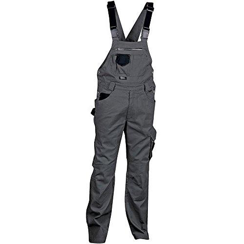 Cofra V000-0-04.Z62 Latzhose Pocket, Anthrazit / Schwarz, Größe 62