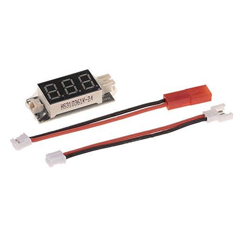 Micro-jst-anschluss (Goolsky Makerfire RC LiPo Batterie Spannungsprüfer JST 1.25 und JST-PH 2.0 Anschlüsse mit Micro Losi und JST Kabel)