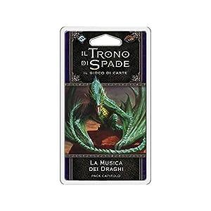 Asmodee Italia-Juego de Tronos LCG 2nd Ed. Expansión de la música de los Dragones Juego de Mesa, Color, 9240