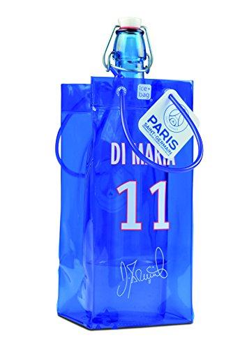 Ice bag 17310 Rafraîchisseur à Bouteilles Multicolore PVC Bleu, Blanc et Rouge 11 x 11 x 25,5 cm