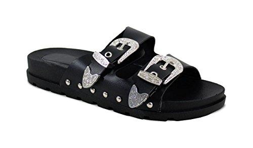 By Shoes Zoccoli Donna Nero