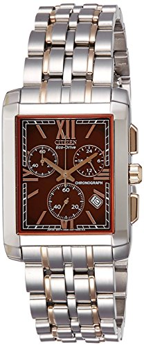 Citizen Analog Brown Dial Men's Watch - AT2016-54X