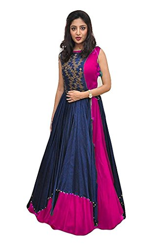 Gowns For Women Party Wear Pink Color Lehenga Choli For Wedding Function...