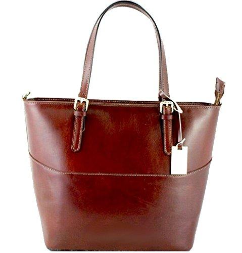 Bottega Carele ,  Damen Tasche aus Leder braun