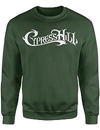 f4ced9bebb256 LaMAGLIERIA Sudadera Unisex Cypress Hill - Sudadera Set-in