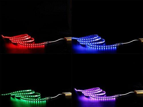 10-30m 230V RGB LED 60 leds Strip Streife leiste ip68 mit Kontroller Dimmer FB (20M)