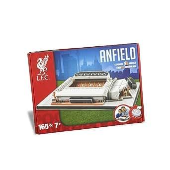 Nanostad 3715 – Anfield Road Liverpool Puzzle Unisex, Einheitsgröße, mehrfarbig