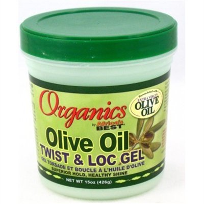 Africa's Best Organics Olive Oil Gel Twist & Lock 425 ml Jar (Case of 6) by Africa's Best