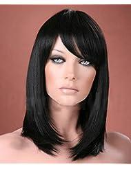 Suchergebnis Auf Amazon De Fur Peruecke Lange Schwarze Glatte Haare