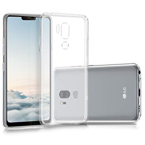 kwmobile LG G7 ThinQ/Fit/One Hülle - Handyhülle für LG G7 ThinQ/Fit/One - Handy Case in Transparent