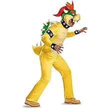 Disfraz de hombre de Bowser Deluxe Adult Costume