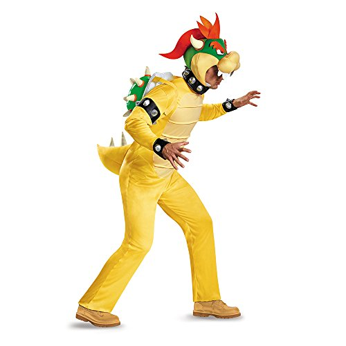 Super Mario Bros Bowser Deluxe Adult Costume X-Large 42-46 (Mario Bros Bowser-kostüm)