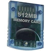 Tarjeta de memoria alta capacidad 512mb (4x2043 Blocks) para consola Nintendo Wii + Gamecube