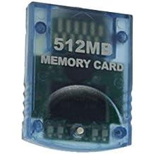 Link-e ® - Carte mémoire grande capacité 512mb (4x2043 Blocks) pour console Nintendo Wii + Gamecube