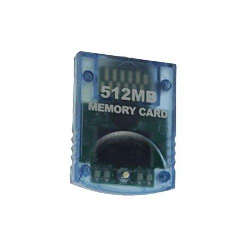 Link-e ® - Speicherkarte Mit Hoher Kapazität 512mb Für Die Nintendo Wii Und Gamecube Konsole
