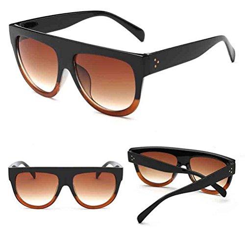 Damen Herren Mirrored Sonnenbrille,Ronamick Vintage Sonnenbrillen Eyewear Mode (G)