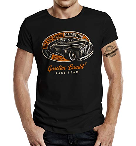 Hot Rod Garage (Classic T-Shirt: Hot Rod Garage Old Skool 3XL)