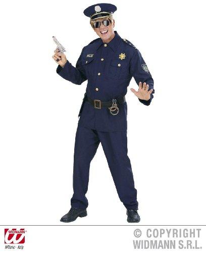 Für Polizei Männer Kostüme (KOSTÜM - POLIZIST - Größe 56)