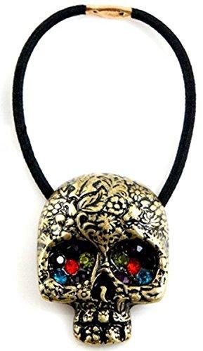 cuhair (TM) femmes fille 1 pièce rétro crâne Accessoires cheveux Cravates queue de cheval corde élastique Supports Accessoires