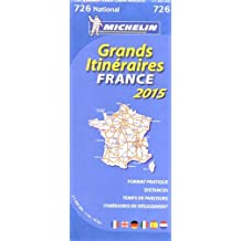 France Route Planning 2015 - Michelin National 726 (scale 1/1 000 000) (Michelin National Maps)