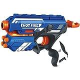 Toyshine Foam Blaster Gun Toy with 10 Bullets (Multicolour, 687678)