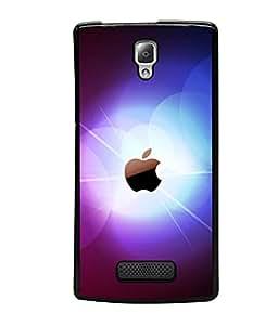 printtech Apple Glow Back Case Cover for Lenovo A2010