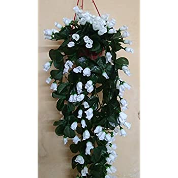 Artificial Hanging Flower Vine with Free Pot/Attractive Real Like