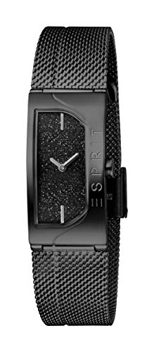 Esprit Damen Analog Quarz Uhr mit Edelstahl Armband ES1L045M0235