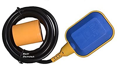 Blackt Electrotech 250 Volts Float Switch Sensor for Water Level Controller with 3 Meter Wire (Select NO/NC), BT-901i