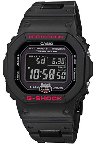 Casio G-Shock Digitale Funk-Solar-Herrenuhr GW-B5600HR-1ER