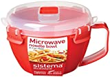 Sistema Microwave Noodle Bowl - 940 ml, Red