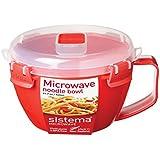 Sistema Microwave Noodle Bowl - 940 ml, Red