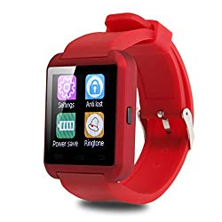Padcod U8 Bluetooth Smart Watch For Android Smartphones & Iphone Series (Red)